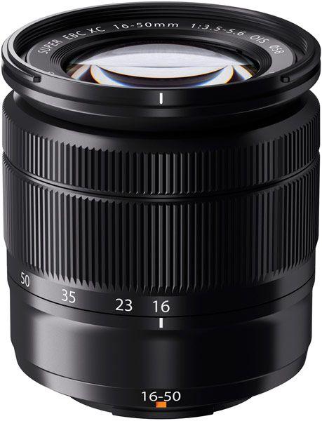 Объектив Fujinon XC 16-50mm F3.5-5.6 OIS рассчитан на использование с камерами Fujifilm с креплением X Mount