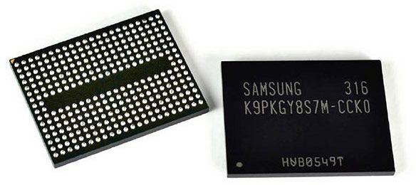 Объемная компоновка позволит Samsung преодолеть предел наращивания объема флэш-памяти