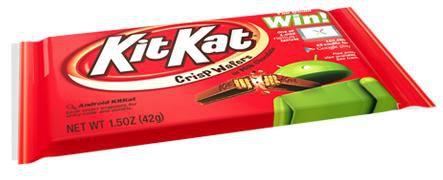 KitKat Nestle Android