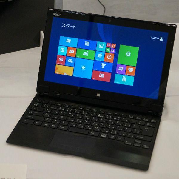 Основой планшета-ноутбука Fujitsu Arrows Tab QH77/M служит процессор Intel Core i5-4200U
