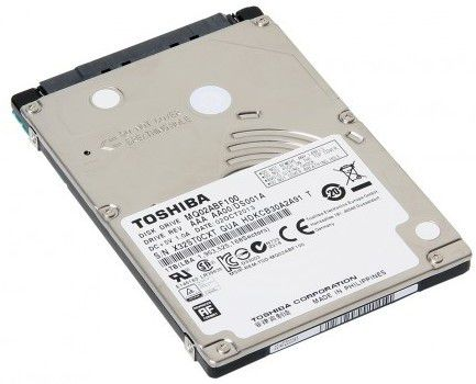 Жесткие диски MQ02ABF100 и MQ02ABF075 предназначены для тонких ПК и ноутбуков