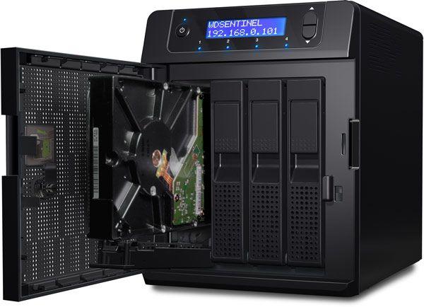 WD Sentinel DS5100 и DS6100 - сервера на платформе Intel