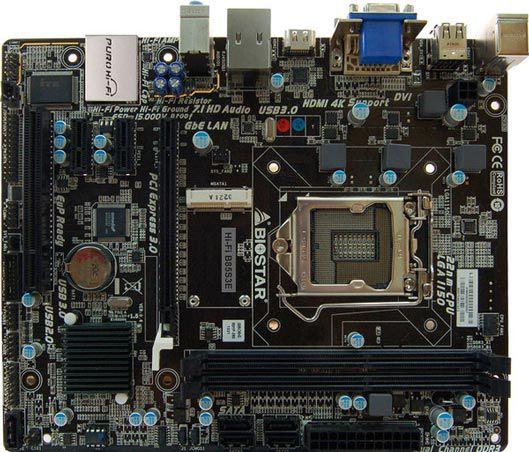 Cписок новинок Biostar включает модели Hi-Fi B85W, Hi-Fi B85S3E, Hi-Fi B85S3+, Hi-Fi B85S3, Hi-Fi B85S2, Hi-Fi B85S 3D, Hi-Fi B85N 3D и B85MG
