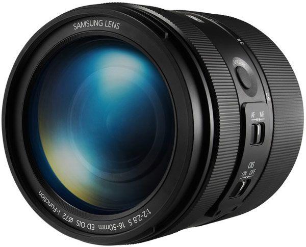 Объективы Samsung 16-50mm F2-2.8 S ED OIS и 16-50mm F3.5-5.6 Power Zoom ED OIS предназначены для камер Samsung NX