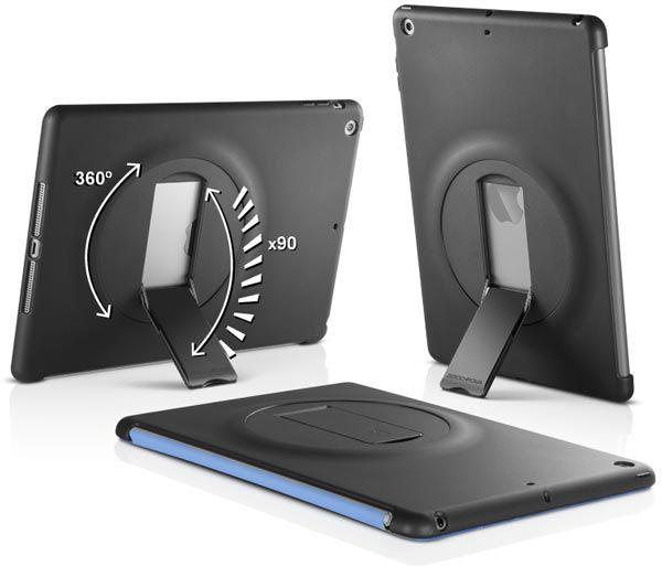Чехол ZeroChroma Vario-SC для планшета Apple iPad Air совместим с обложкой-подставкой Apple Smart Cover
