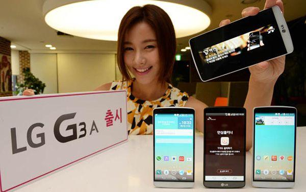 LG G3A анонсирован в Корее