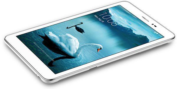 При габаритах 210,6 x 127,7 x 7,9 мм планшет Honor T1 весит 360 г