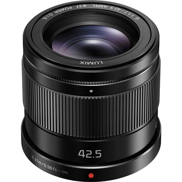Объектив Panasonic Lumix G 42.5mm/F1.7 ASPH./POWER O.I.S. (H-HS043E) предназначен для съемки портретов