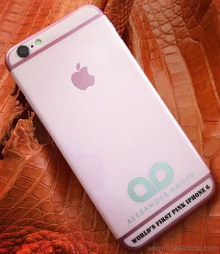 Розовый смартфон iPhone 6 оценен в 1899 фунтов стерлингов