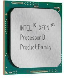 Однокристальные системы Intel Xeon D оптимизированы для микро-серверов, хранилищ и сетевого оборудования
