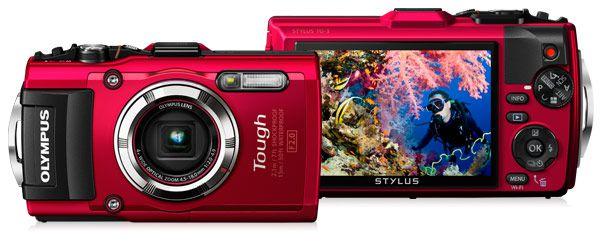 Внешне камера Olympus TG-4 очень похожа на свою предшественницу