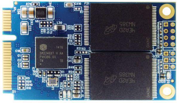 Твердотельные накопители Super Talent mSATA SJ2 предназначены для встраиваемых систем