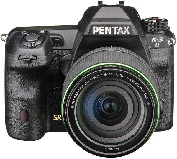 Зеркальная камера Pentax K-3 II оснащена приемником GPS и улучшенным стабилизатором изображения