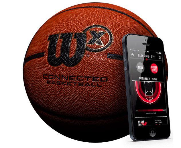 Wilson X Connected Basketball — умный баскетбольный мяч и приложение для смартфона