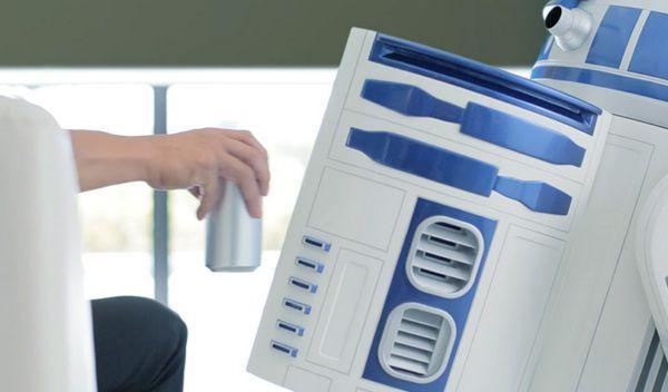 Холодильник R2-D2 из «Звездных войн» предлагается за $9 000