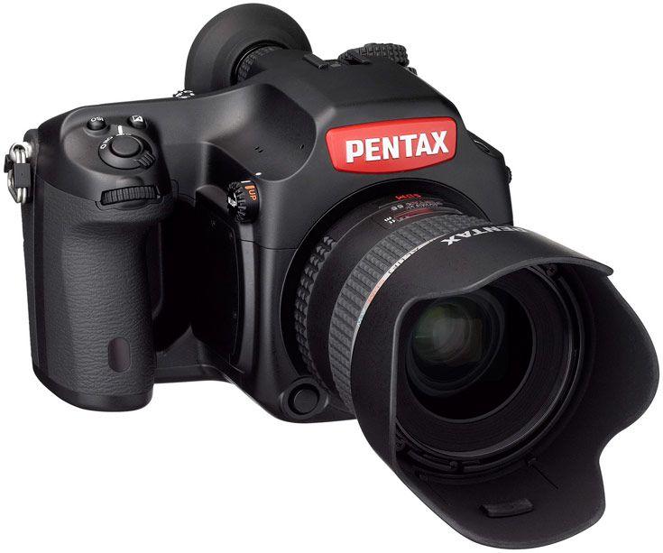 В розничную торговлю камера Pentax 645Z IR поступать не будет