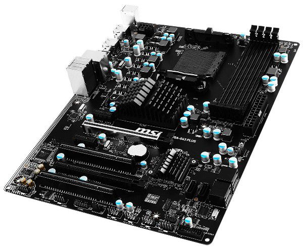 MSI представила системную плату 970A-G43 Plus
