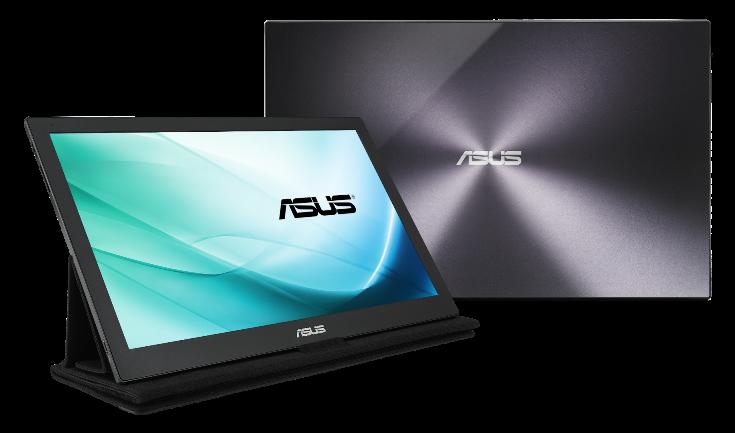 Asus представила мониторы MB169C+ и MX27UQ