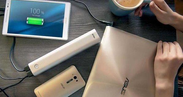 Емкость портативного аккумулятора Asus ZenPower Max составляет 28600 мА•ч