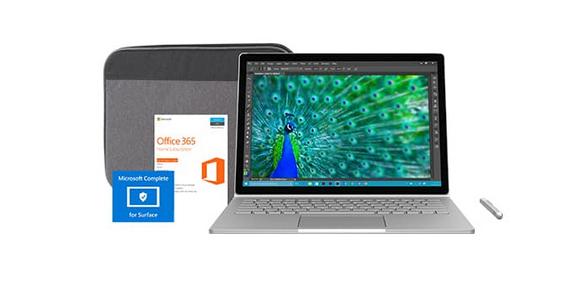 Комплект Microsoft Surface Book подешевел на 0