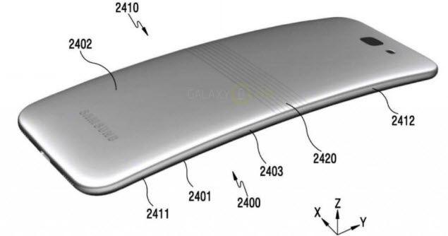Опубликованы изображения смартфона Samsung Galaxy X со сгибающимся экраном