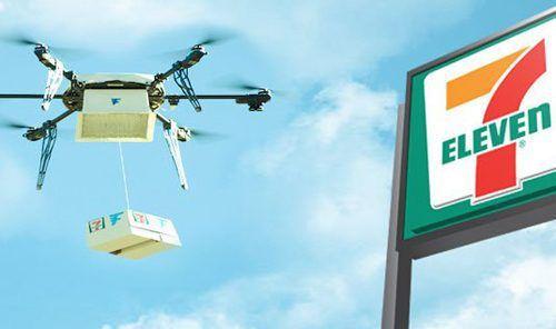 7-Eleven опередила Amazon, доставив 77 посылок при помощи дронов за полгода