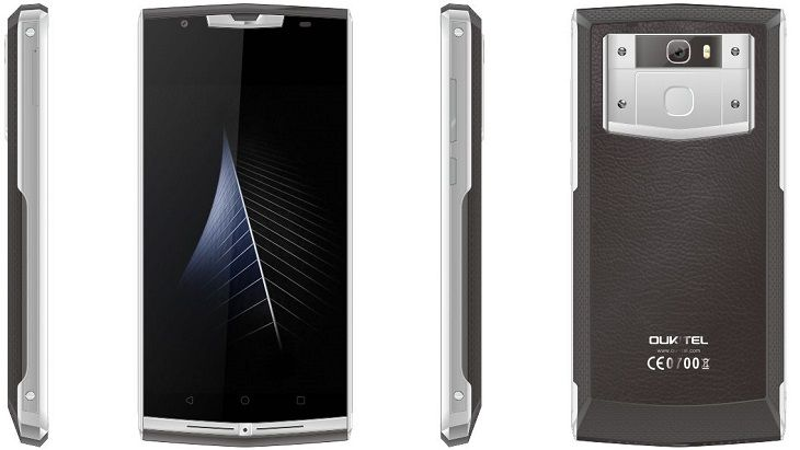 Смартфон Oukitel K10000 Pro станет на ступень выше родоначальника семейства