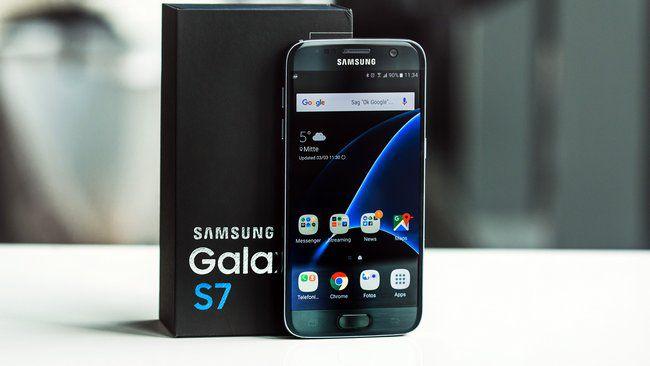 Продано 55 млн смартфонов Samsung Galaxy S7 и S7 Edge