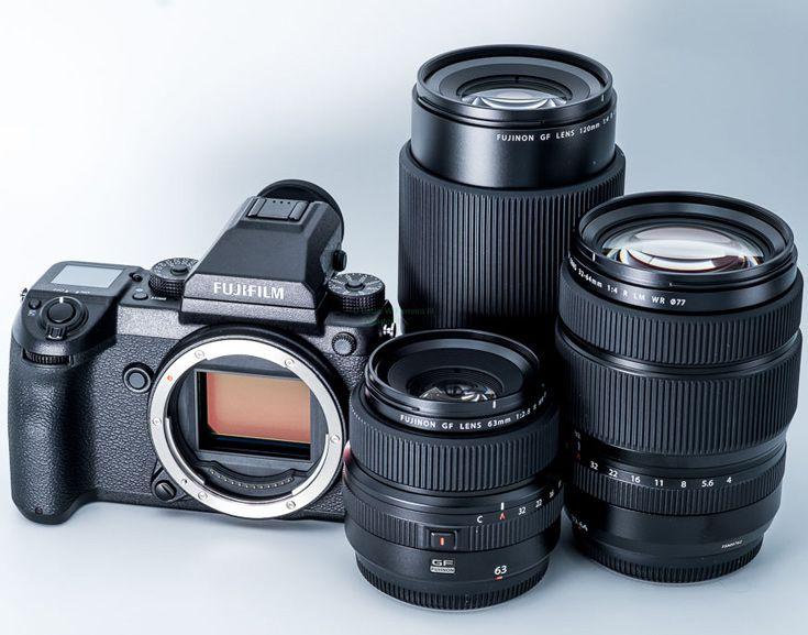 Названы следующие объективы для камеры Fujifilm GFX 50S