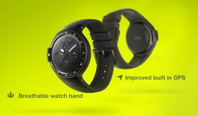 Отгрузка умных часов Ticwatch S и E должна начаться в ноябре