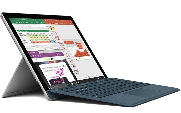 Цены на мобильный компьютер Microsoft Surface Pro начинаются с 0